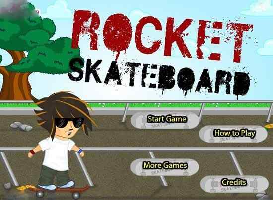 Play Rocket Skateboard