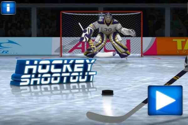 Play Hockey Shootout