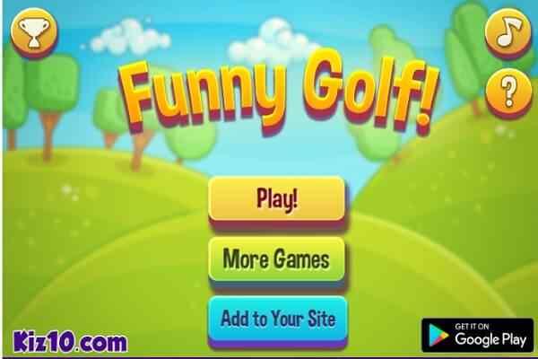 Play Funny Golf!