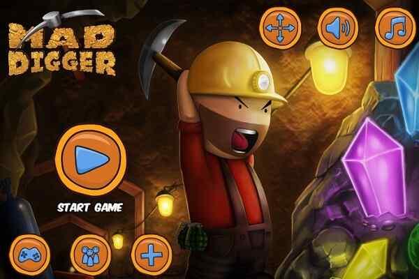 Play Super Mad Digger