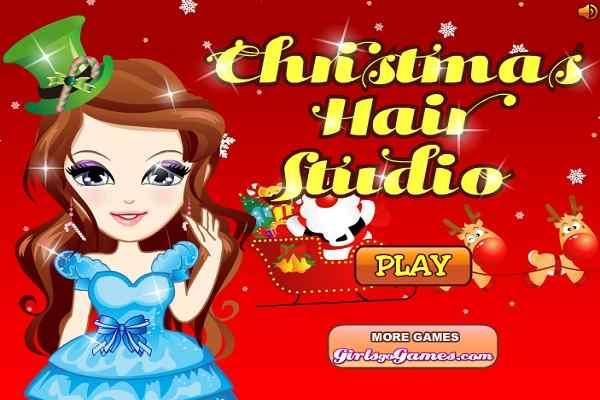 Play Christmas Hair Studio