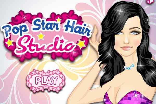 Play Pop Star Hair Studio