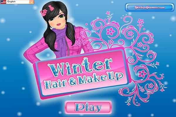 Play Winter Hair  MakeUp