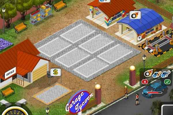 Play Garage Tycoon