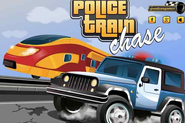 Play Police Train Chase