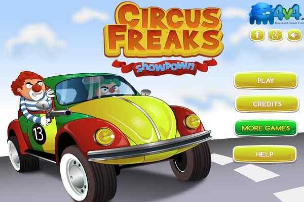 Play Circus Freaks Showdown