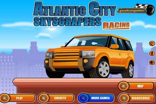 Play Atlantic City Skyscrapers Racing