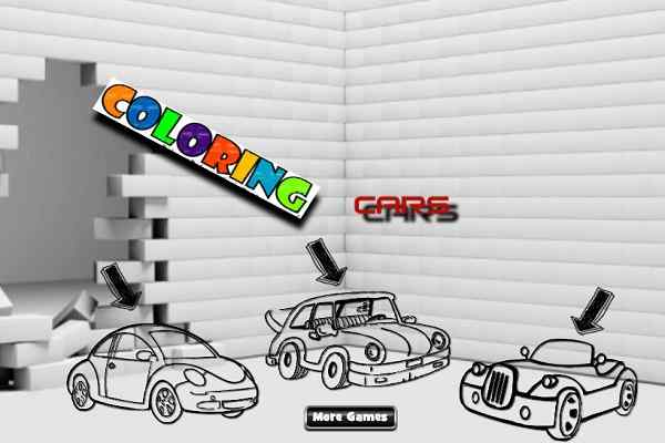 Play Cars Coloring