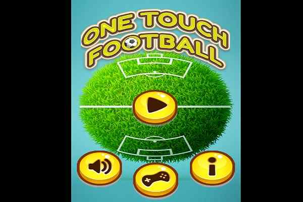 Play One Touch Football