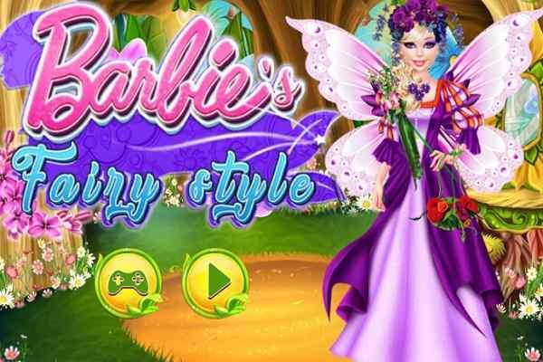 Play Barbie's Fairy Style