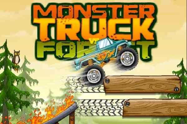 Play Monster Truck Vs. Forest