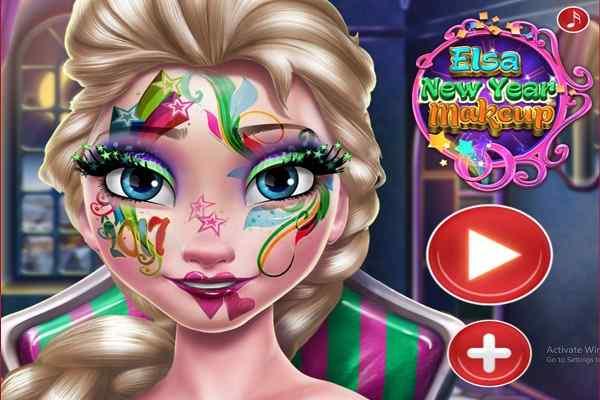 Play Elsa New Year Makeup