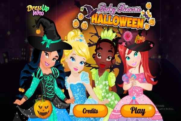 Play Baby Princess Halloween