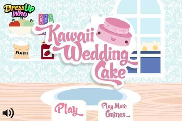 Play Kawaii Wedding Cake