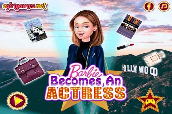 Play Barbie Becomes An Actress