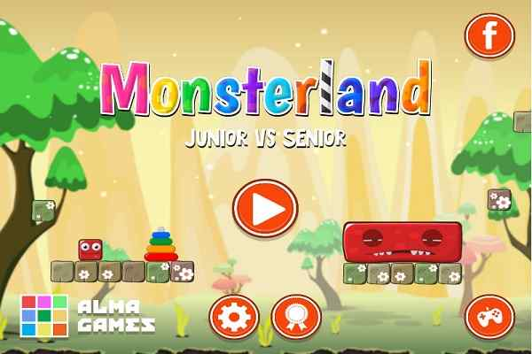 Play Monsterland Junior vs Senior Deluxe