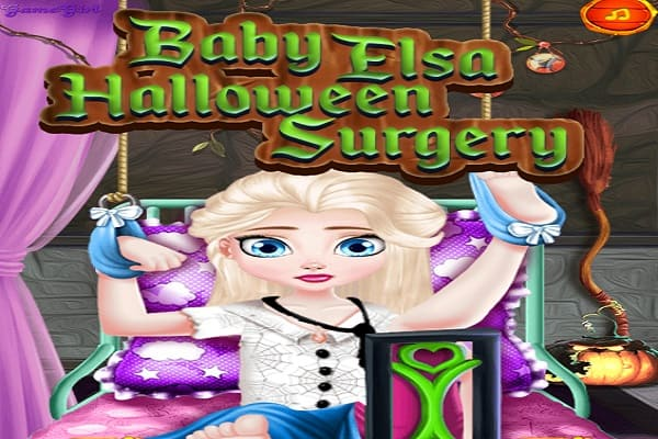 Play Baby Elsa Halloween Surgery