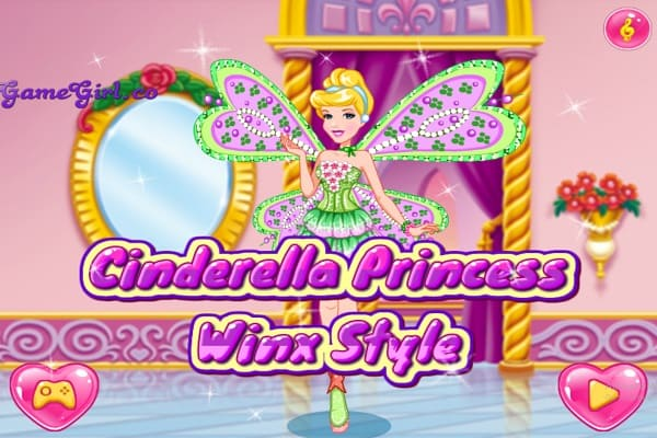 Play Cinderella Princess Winx Style