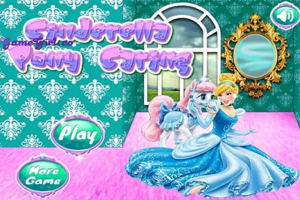 Play Cinderella Pony Caring