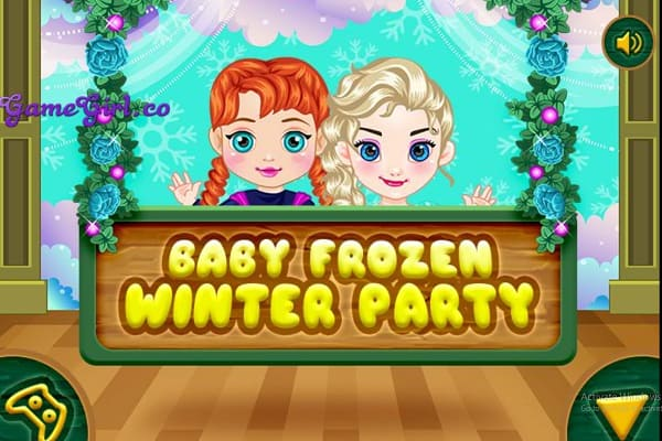 Play Baby Frozen Winter Party