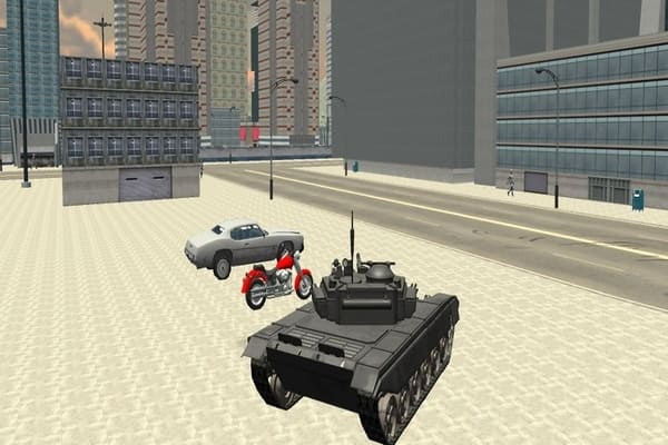 Play Tank Driver Simulator