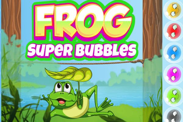 Play Frog Super Bubbles