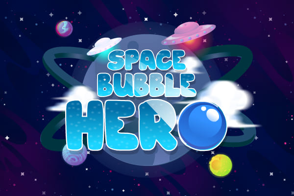 Play Space Bubble Hero