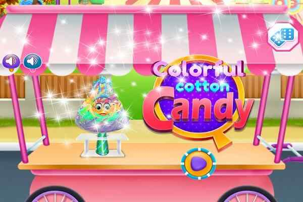 Play Colorful Cotton Candy