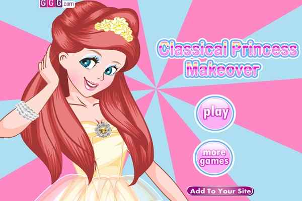 Classical Princess Makeover - Play Free Online Games ...